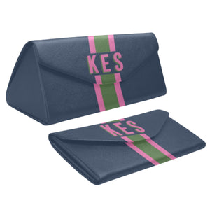 Navy/Orchid Eyewear Case