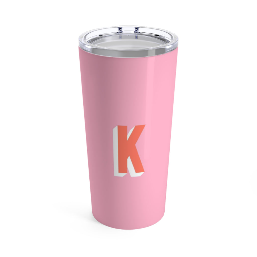 Large Solid Pink Tumbler