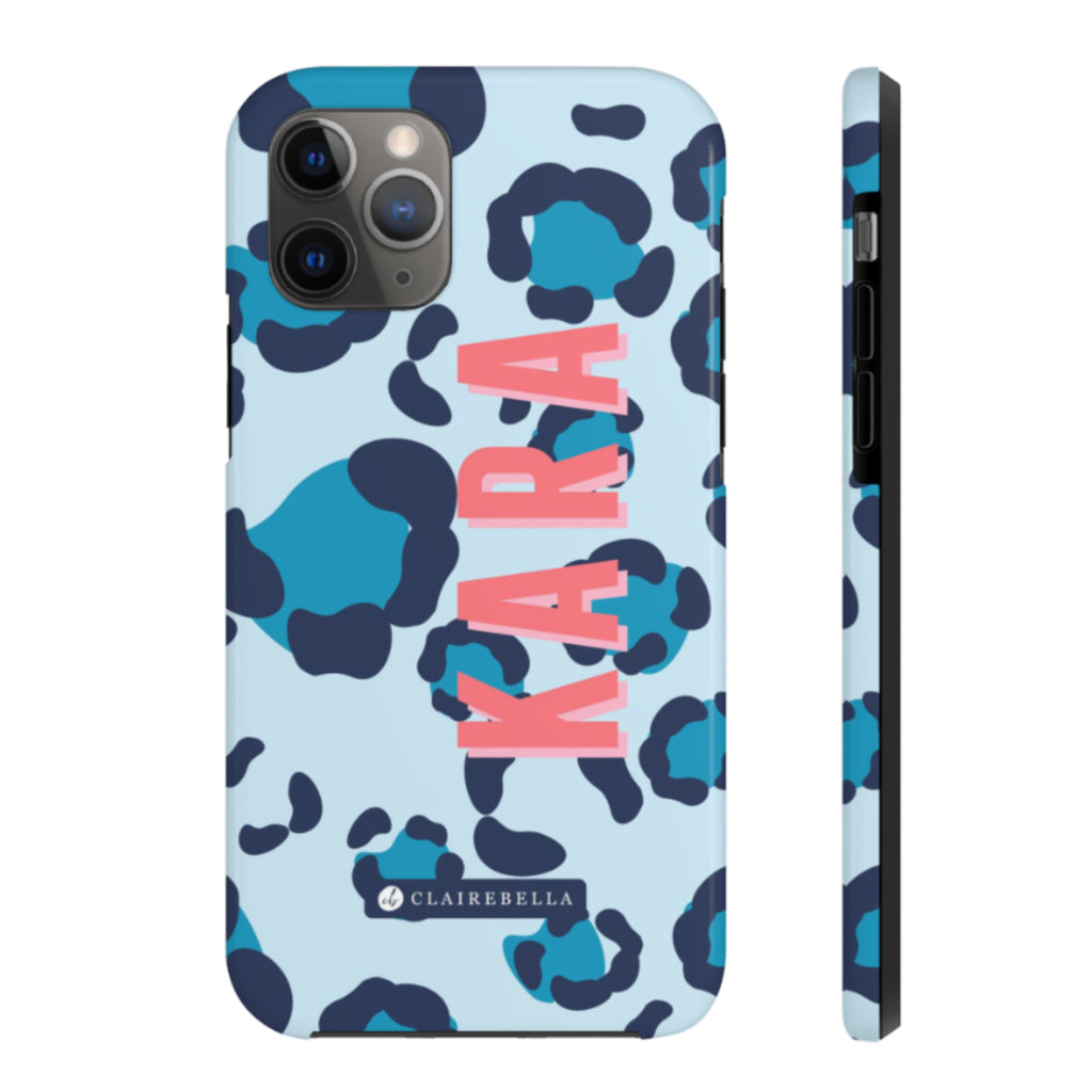 iPhone Tough Case 11 Pro Spots Blue