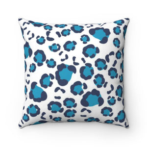 Leopard Spots Navy Pillow Cover