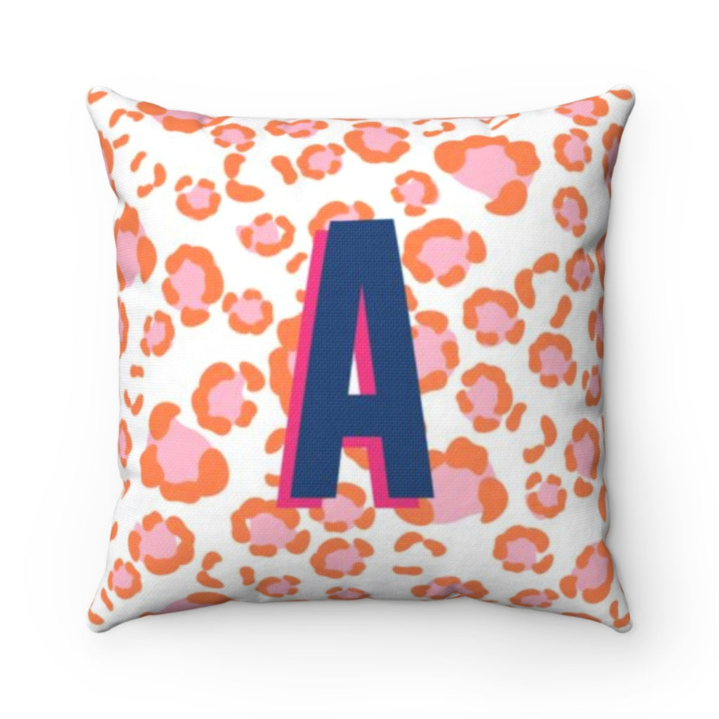 Leopard Spots Pink Pillow Cover