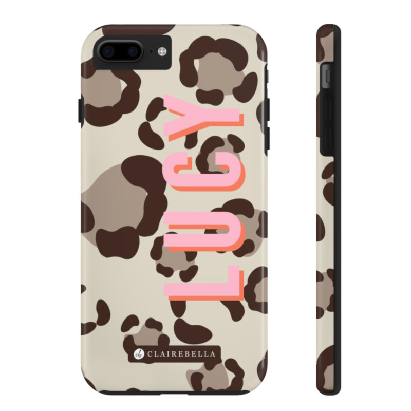iPhone Tough Case 7/8 Plus Spots Tan