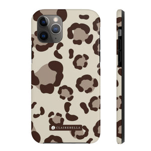 iPhone Tough Case 11 Pro Max Spots Tan