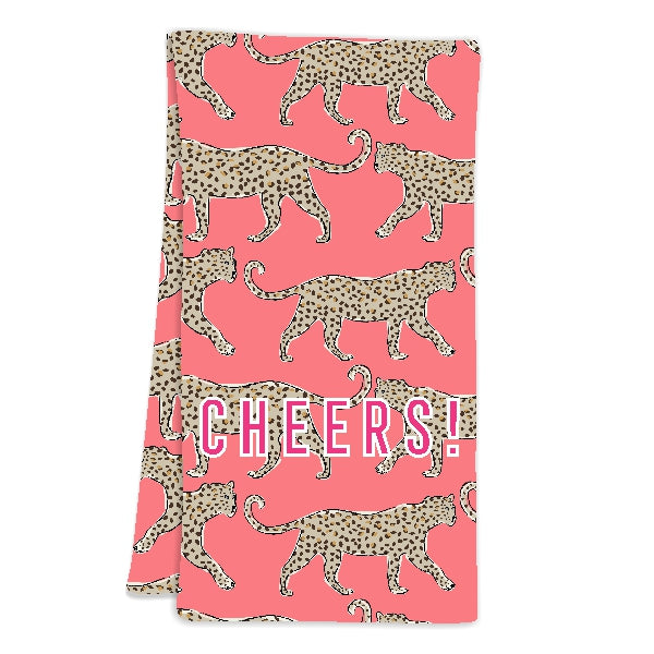 Leopard Hostess Towel