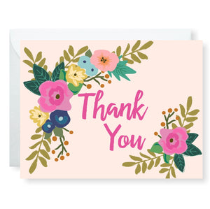 Blooming Thanks Greeting Card