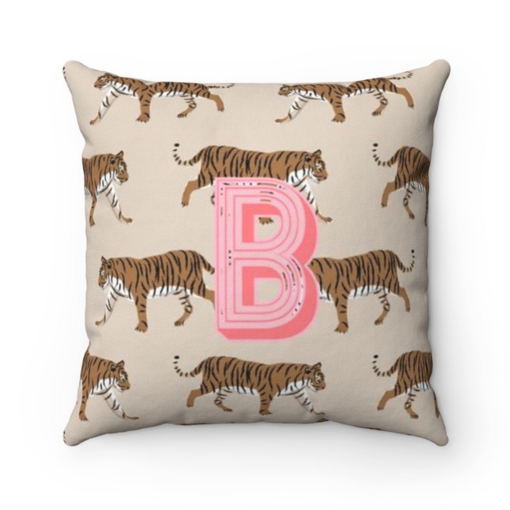 Tiger Natural Pillow Cover