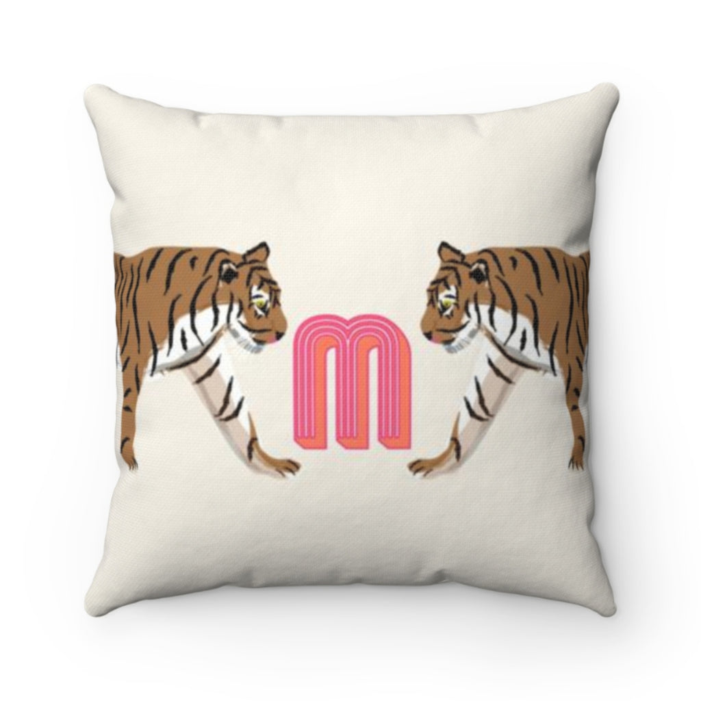 Tiger Duo Outdoor Pillow