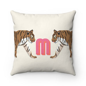 Tiger Duo Pillow Cover