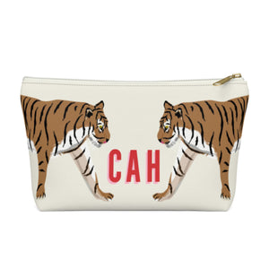 Tiger Duo Small Zippered Pouch