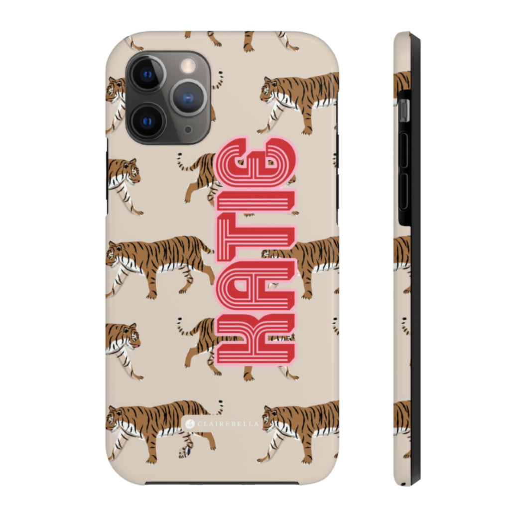 iPhone Tough Case 11 Pro Max Tiger Tan