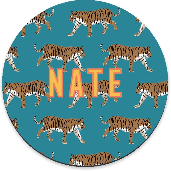 Tiger Blue Mousepad