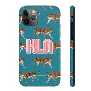 Tiger Blue iPhone 12 Pro Max Case