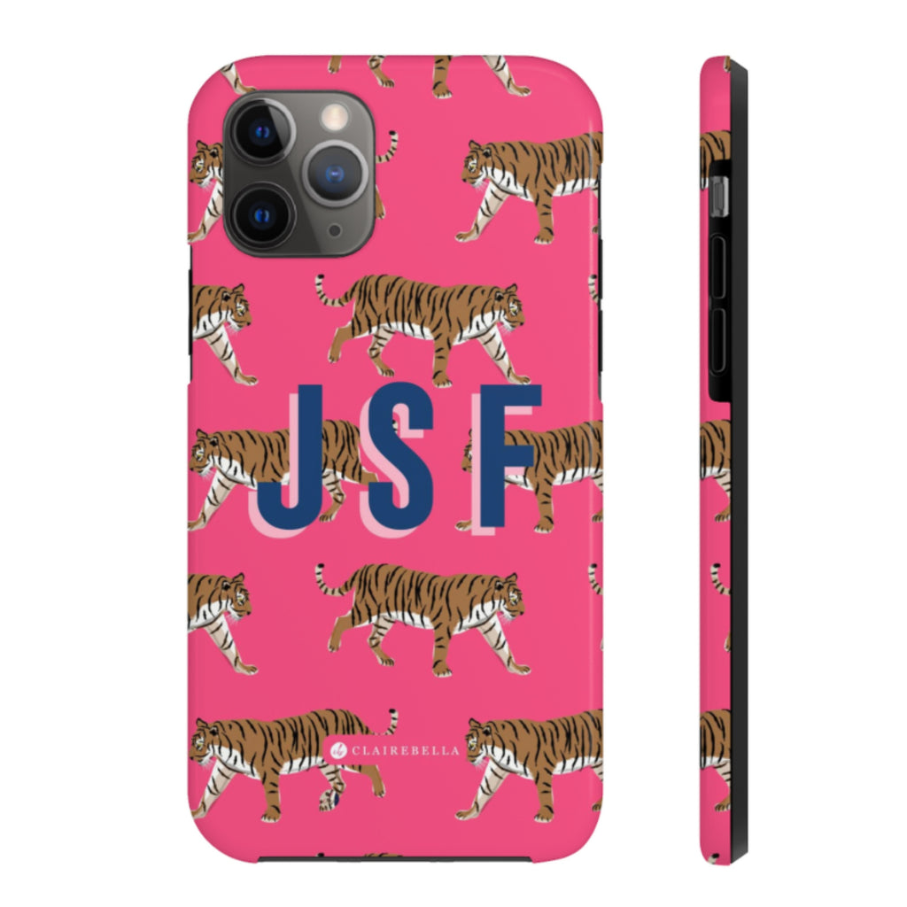 Tiger Pink iPhone 12/12 Pro Case