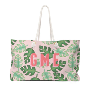 Tropical Pink Travel Tote