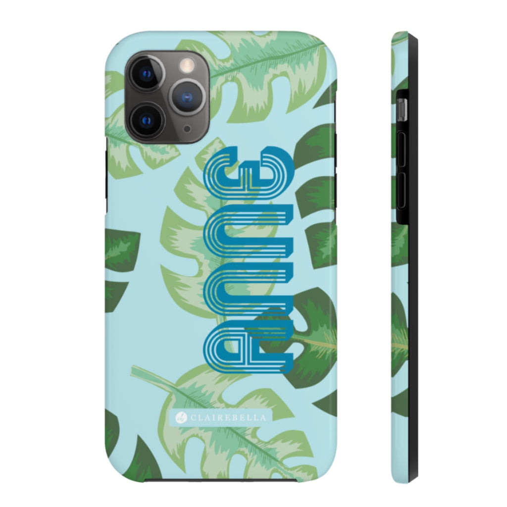iPhone Tough Case 11 Pro Max Tropical Blue
