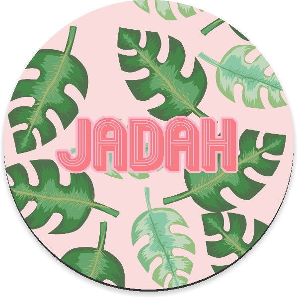 Tropical Pink Mousepad