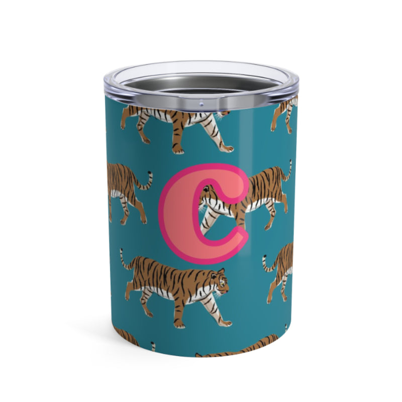 Small Tiger Blue Tumbler