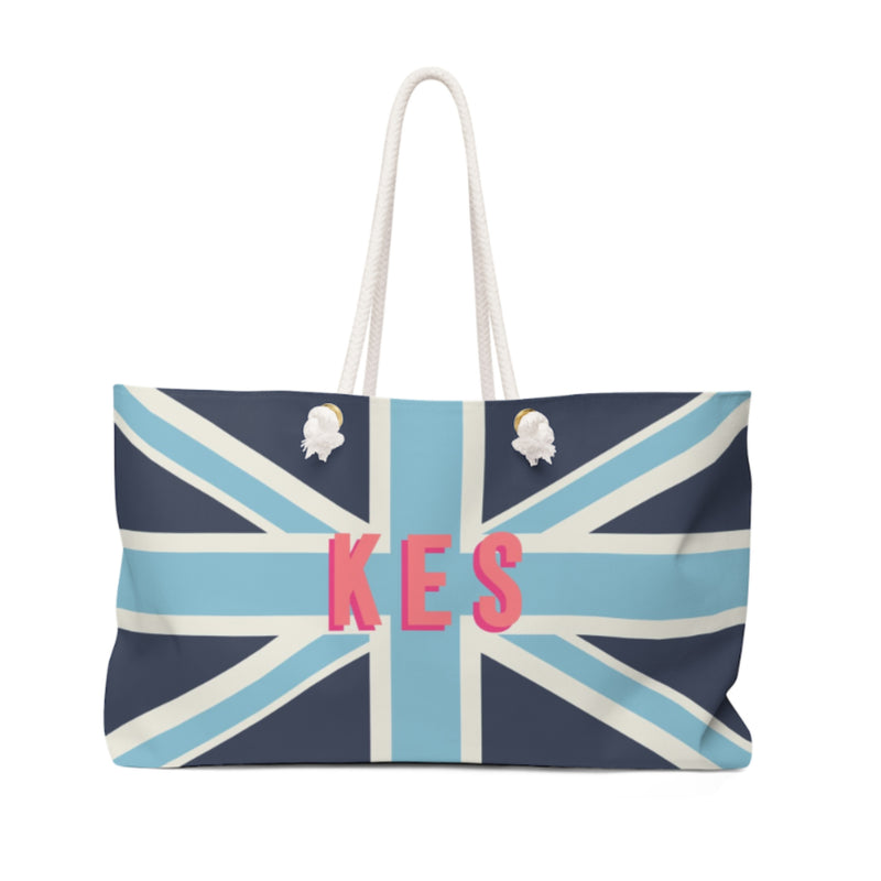 Union Jack Blue Travel Tote