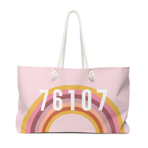 Rainbow Pink Travel Tote