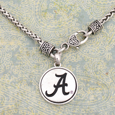 Alabama Crimson Tide Medallion Clasp Necklace