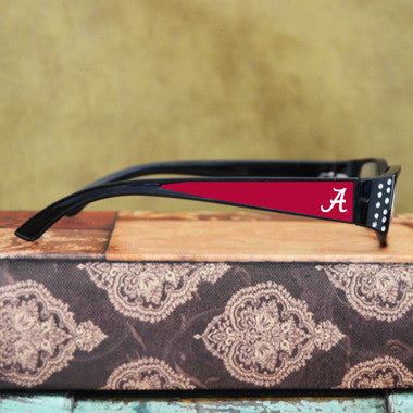Alabama Crimson Tide Womens Reading Glasses with Crystals