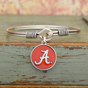 Alabama Crimson Tide Translucent Disc Logo Bracelet