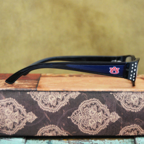 Auburn Tigers Womens Reading Glasses with Crystals