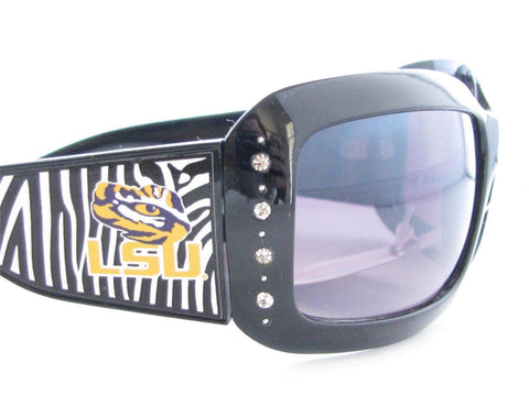 LSU Tigers Zebra Sunglasses