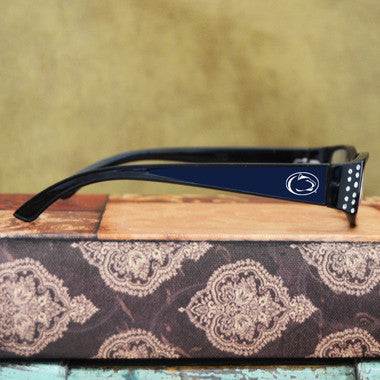 Penn State Nittany Lions Womens Reading Glasses with Crystals