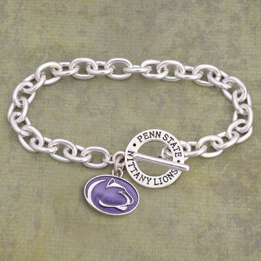 Penn State Nittany Lions Toggle Charm Bracelet