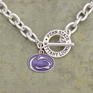 Penn State Nittany Lions Toggle Charm Necklace