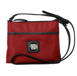 South Carolina Gamecocks Cross Body Logo Bag