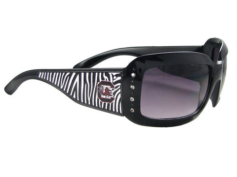 South Carolina Gamecocks Zebra Sunglasses