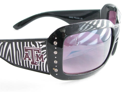 Texas A&M Aggies Zebra Sunglasses