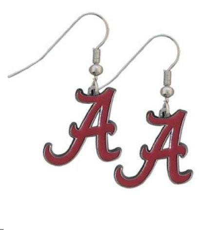 Alabama Crimson Tide - Alabama Crimson Tide Dangle Earrings