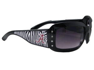 Alabama Crimson Tide - Alabama Crimson Tide Zebra Sunglasses