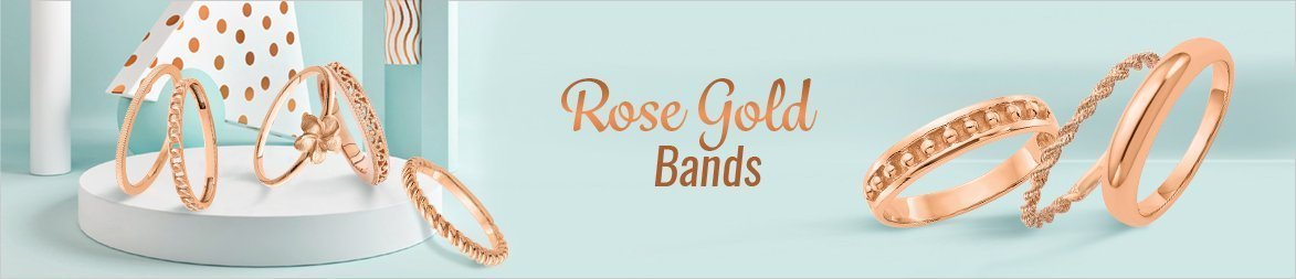 New Rose Gold Bands