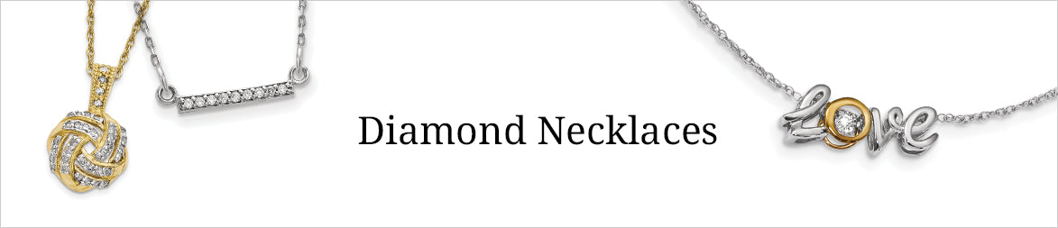 shop diamond necklace for that perfect gift