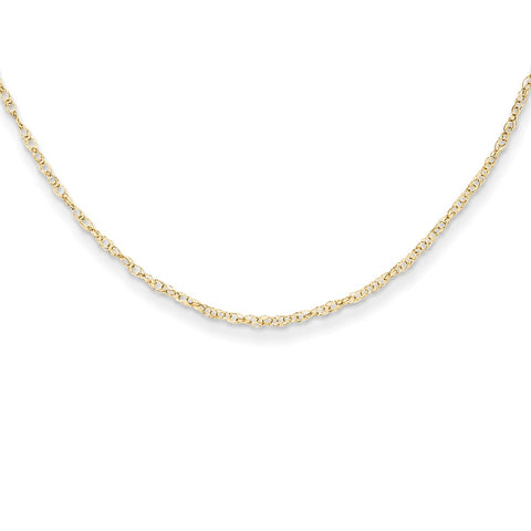 14K Yellow Gold Madi K Child's Rope Chain