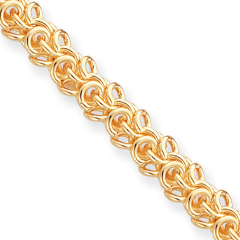 7.25in Gold-plated Kelly Waters Arabesque Bracelet