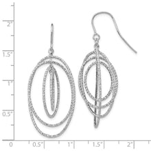 Load image into Gallery viewer, Leslie's 14k White Gold D/C Dangle Earrings