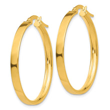 Load image into Gallery viewer, 14K Hoop Earrings