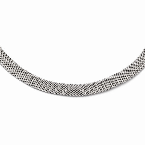 Leslie's Sterling Silver Mesh Necklace