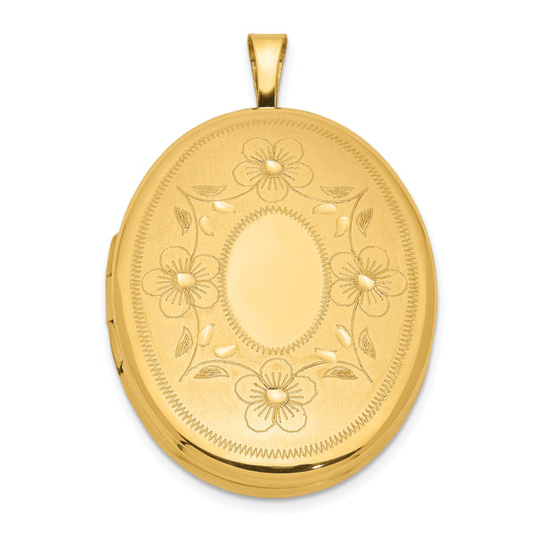 1/20 Gold Filled 26mm Oval Locket