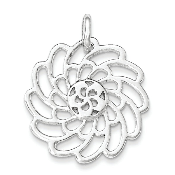 Sterling Silver Polished Pendant