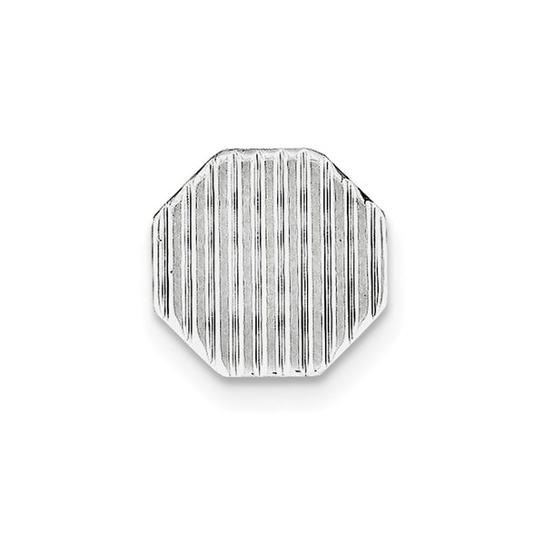 Sterling Silver Rhodium-plated Tie Tac