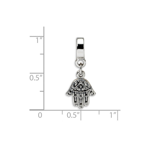 Sterling Silver Reflections Chamseh Dangle Bead