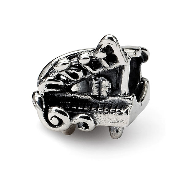 Sterling Silver Reflections Baby Grand Piano Bead