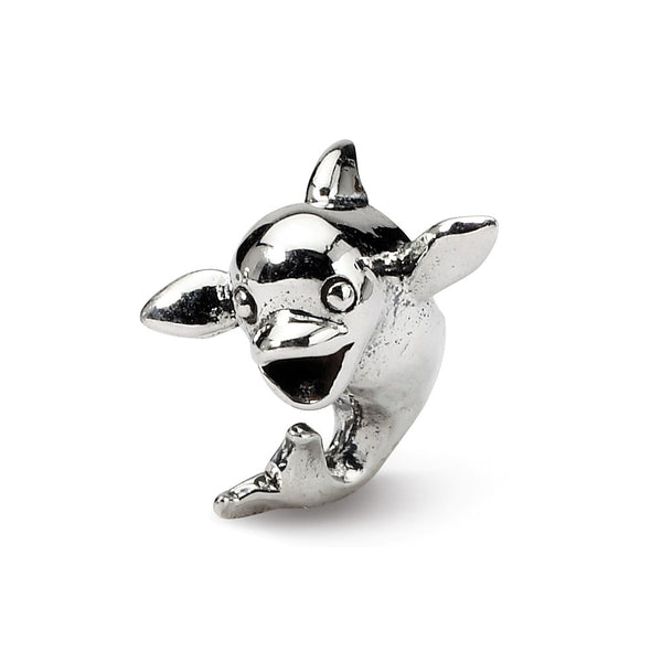Sterling Silver Reflections Kids Dolphin Bead