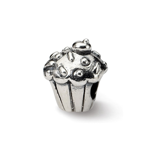 Sterling Silver Reflections Kids Cupcake Bead
